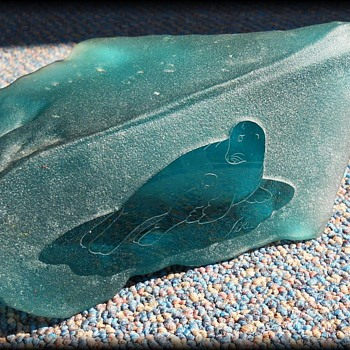Glass Rock Sculpture ??  Or What ?? - Art Glass