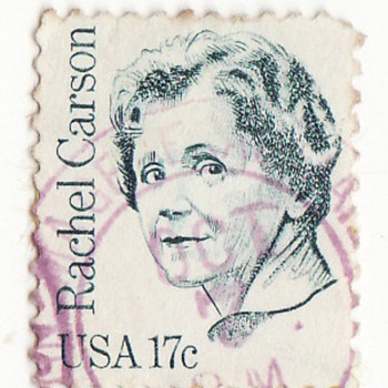 Rachel Louise Carson (May 27, 1907 – April 14, 1964) - Stamps