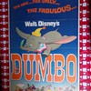 1972 Disney's Dumbo Movie Poster