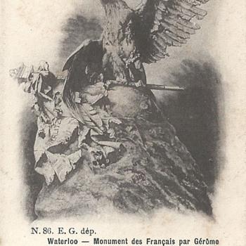 WATERLOO – MONUMENT DES FRANÇAIS PAR GÉRÔME.