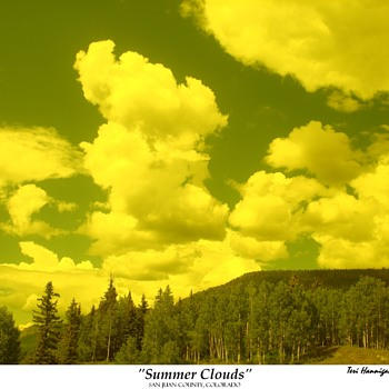 """SUMMER CLOUDS"" SAN JUAN COUNTY, COLORADO  - Photographs"