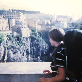 Constantine Algeria!!  LIFE ON THE EDGE!!  REALLY!!! Photos my trip, 1st photo with Connie! - Photographs