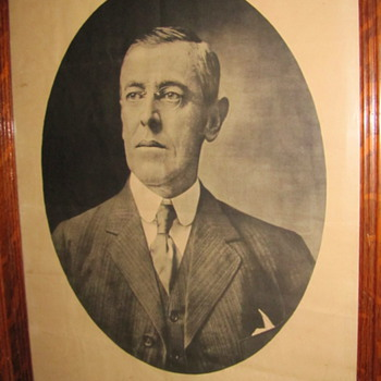 Woodrow Wilson 1912 Presidential Campaign Poster? - Posters and Prints