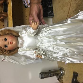 Vintage Bride Doll - Dolls