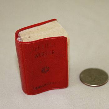 Mini Dictionary - Books