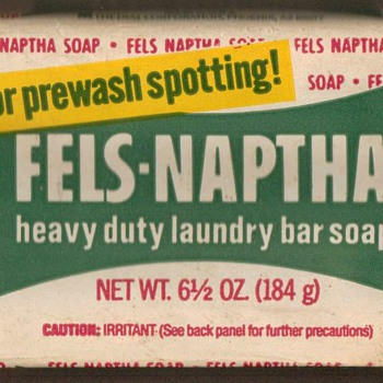 1960's - Fels-Naptha Laundry Bar Soap - Advertising
