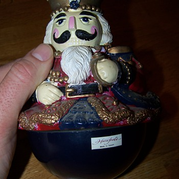Hanfords Made in Taiwan musical nutcracker guy?? - Christmas