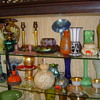 SOME MY GLASS FINDS- HARD TO FIND THIS STUFF ANYMORE...