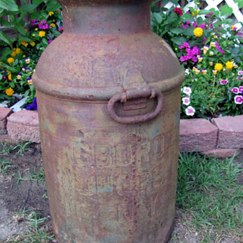 Old Milk Can - Tools and Hardware