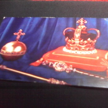 """ Coronation Regalia"" Post Card"