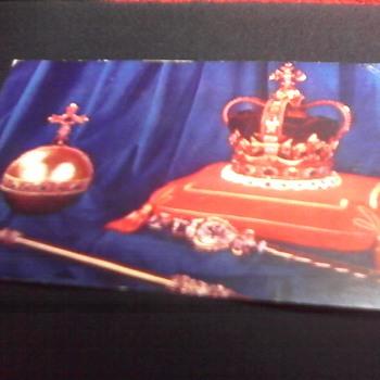 """ Coronation Regalia"" Post Card - Postcards"