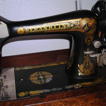 Inherited Franklin sewing machine - Sewing