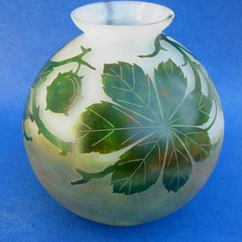 Kralik - Cameo style #1 - Carpe - Art Glass