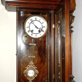 A. Willmann & Co. German Regulator Clock - Clocks