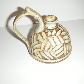 A piece of pottery we found  - Pottery