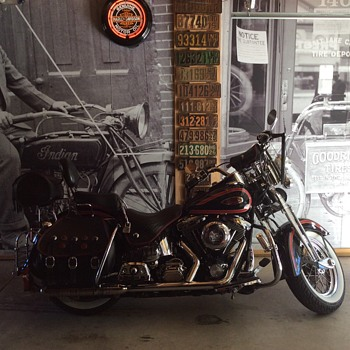1998  Harley Davidson...FLSTS - Motorcycles