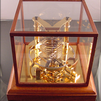 Chronometer clock escapement model by Thomas Mercer