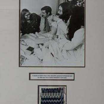 John Lennon's bedspread... - Music