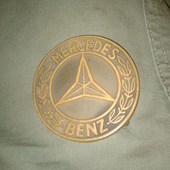 vintage Mercedes Benz Belt Buckle...