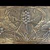 1903 L' Art Nouveau Daguet Brass & Cabochon Decorative Desk Box