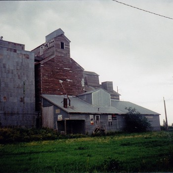 This is the old family grain mill it is now deserted  - Photographs