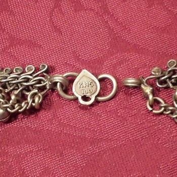looking for some help with this hallmark or someone familar with this Bedouin necklace  - Fine Jewelry