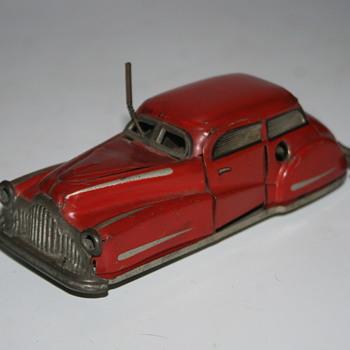 joustra tin toy car