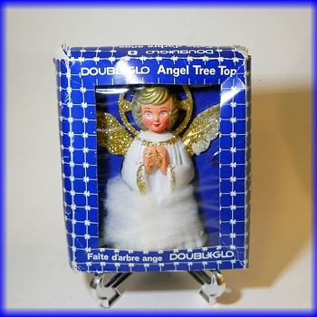 Another CHRISTMAS TREE TOPPER -- Angel - Christmas