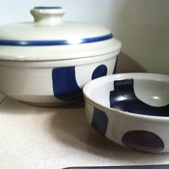 Soup Tureen and set of dishes