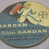 TABLET GARDAN Celluloid Pocket Mirror