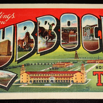 More Postcards from the Little Box Rescued from the trash - Postcards