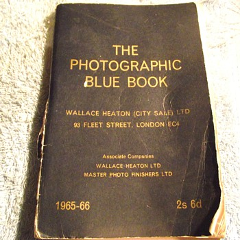 1965-the wallace heaton 'blue book'-leitz leica cameras/acces. - Books