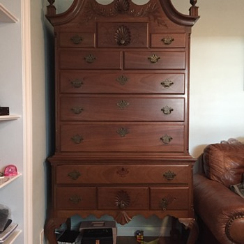 My Highboy Dresser