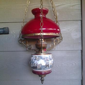 Hanging Electric Lamp