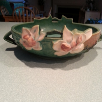 Great Roseville Bowl - Art Pottery