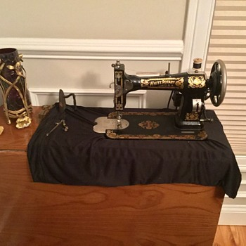 Vintage white Rotary sewing machine  - Sewing