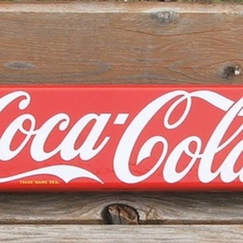 push bar/door push - Coca-Cola