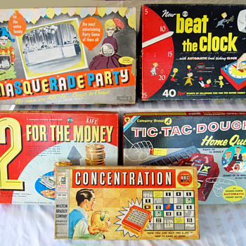Vintage TV Game Show Games - Games