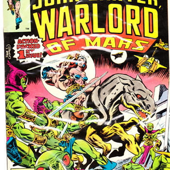 John Carter Warlord of Mars #1 - Comic Books