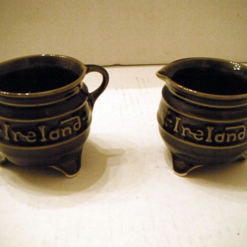 Irish cup and creamer? - China and Dinnerware