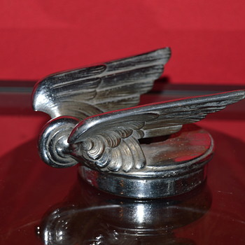 hood ornament chevy 1928