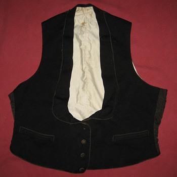 Antique Men's Victorian or Edwardian Waistcoat