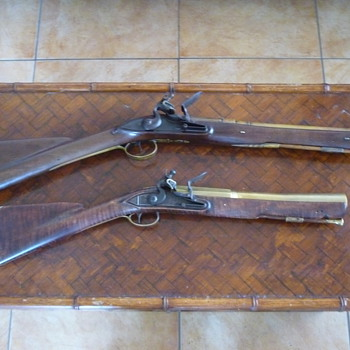 Brass barreled blunderbuss's