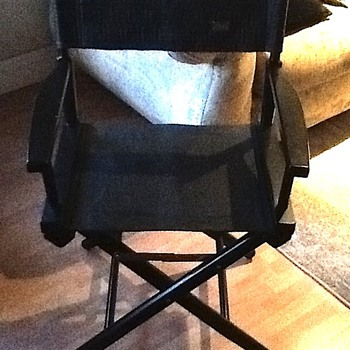Vintage Fendi Directors Chair
