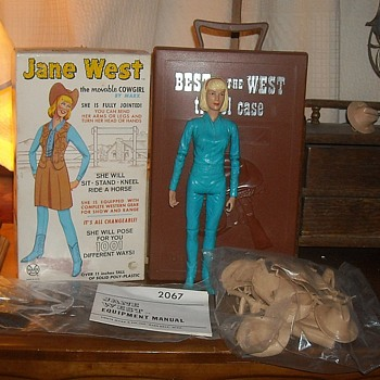 Jane West Marx Best of the West 1965 - Toys
