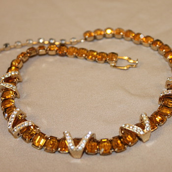 Eisenberg Necklace - Costume Jewelry