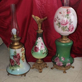 Gone with the Wind Lamps &amp; Ewer - Lamps