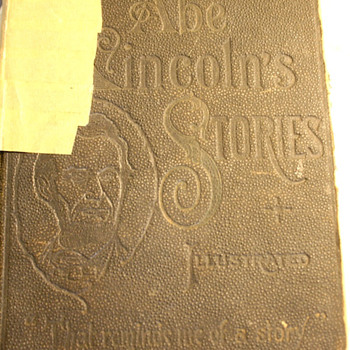 """Abe Lincoln's Stories""  ""That Reminds Me of a Story""  1879 - Books"