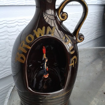 Musical Brown Jug - Music Memorabilia