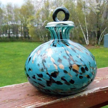 Art Glass Decanter/Vase